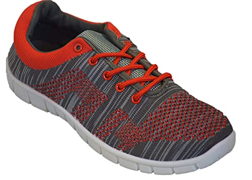 82299a4f79962 Womens Walking Shoes Breathable Sneakers Athletic Knit Mesh Running Shoe  Light Weight Casual Comfort