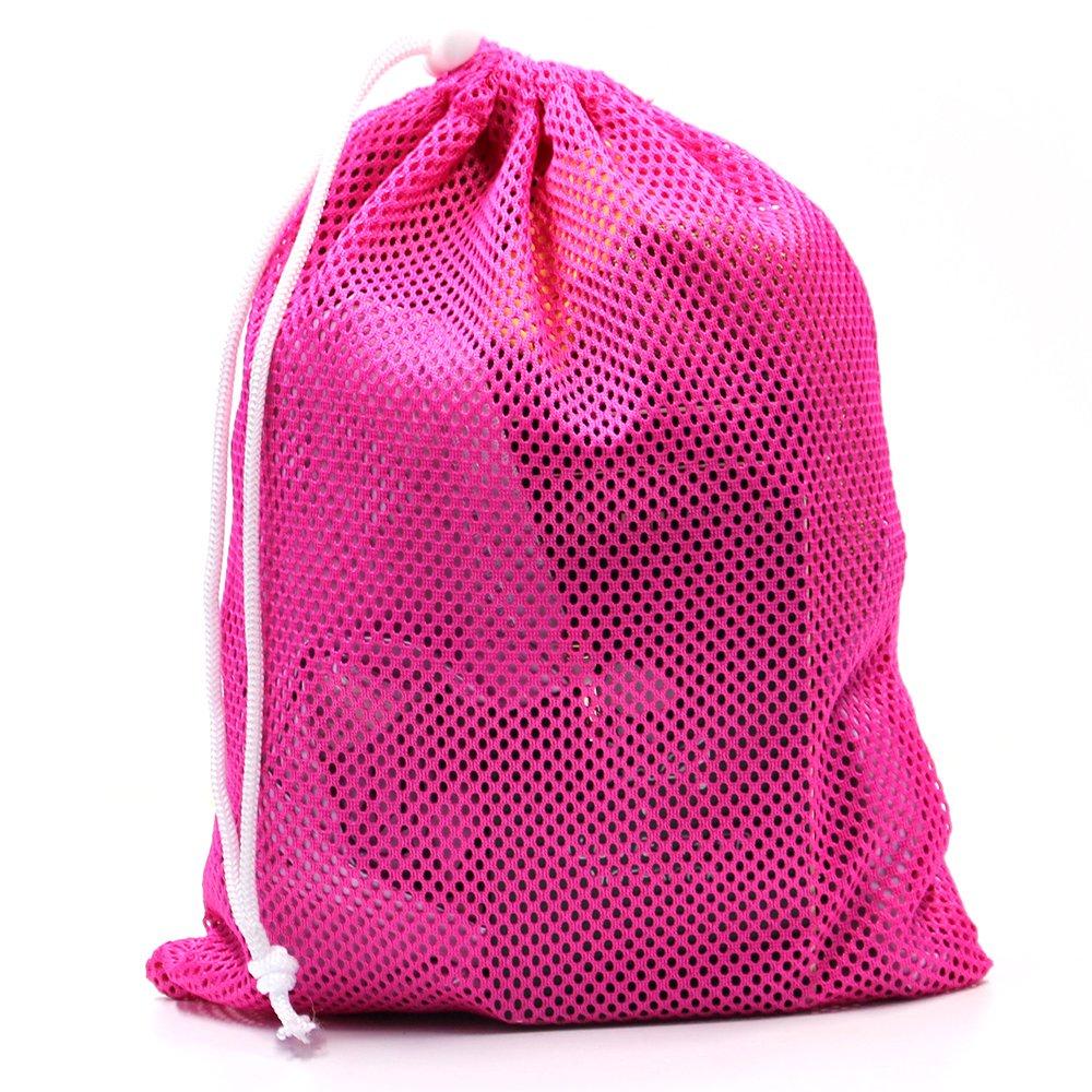 6 PCS Nylon Mesh Drawstring Storage Bag Equipment Bag Stuff Sack Golf Ball Bag ,Assorted by Erlvery DaMain (Image #5)