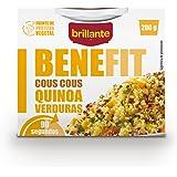 Brillante Benefit Cous Cous Quinoa Verduras 200 g - [Pack De 16] - Total 3200 Gr