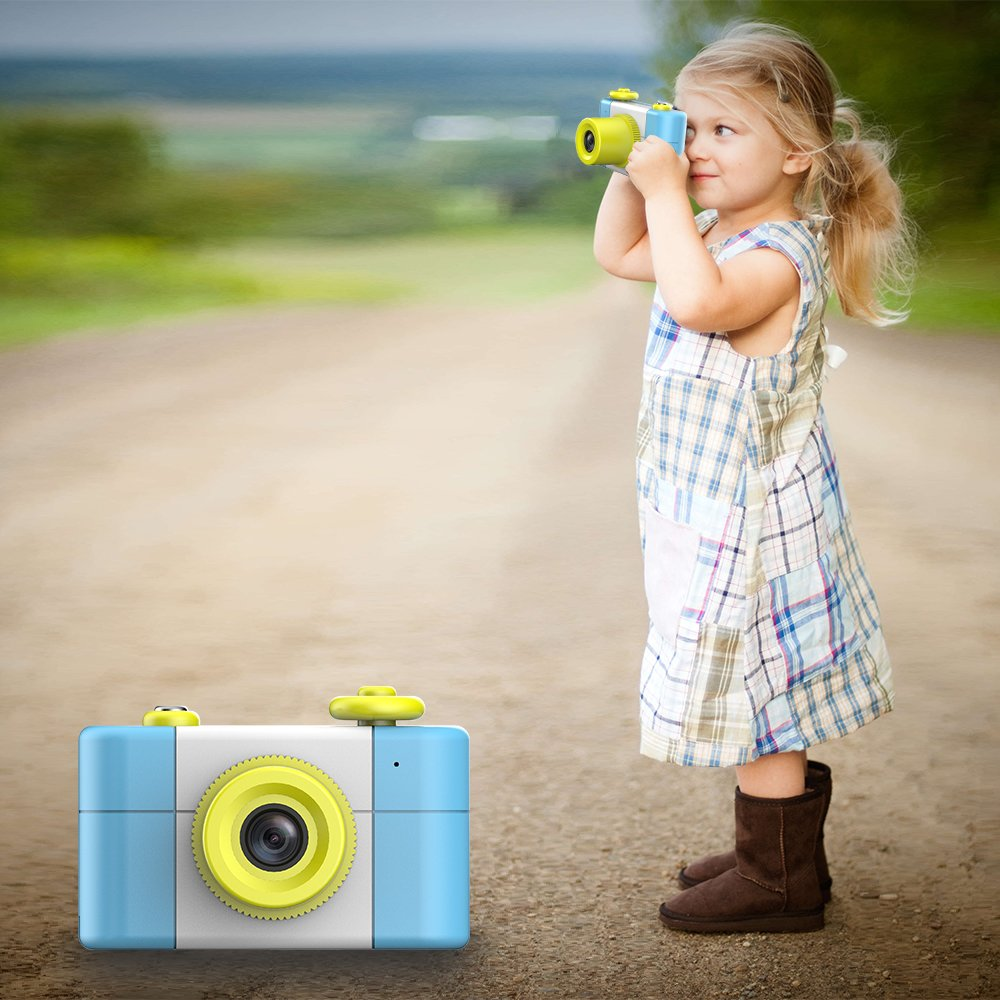 CamKing Kids Children's Camera, 1.5 Inch Screen Mini Digital Camera (Blue) by CamKing (Image #8)