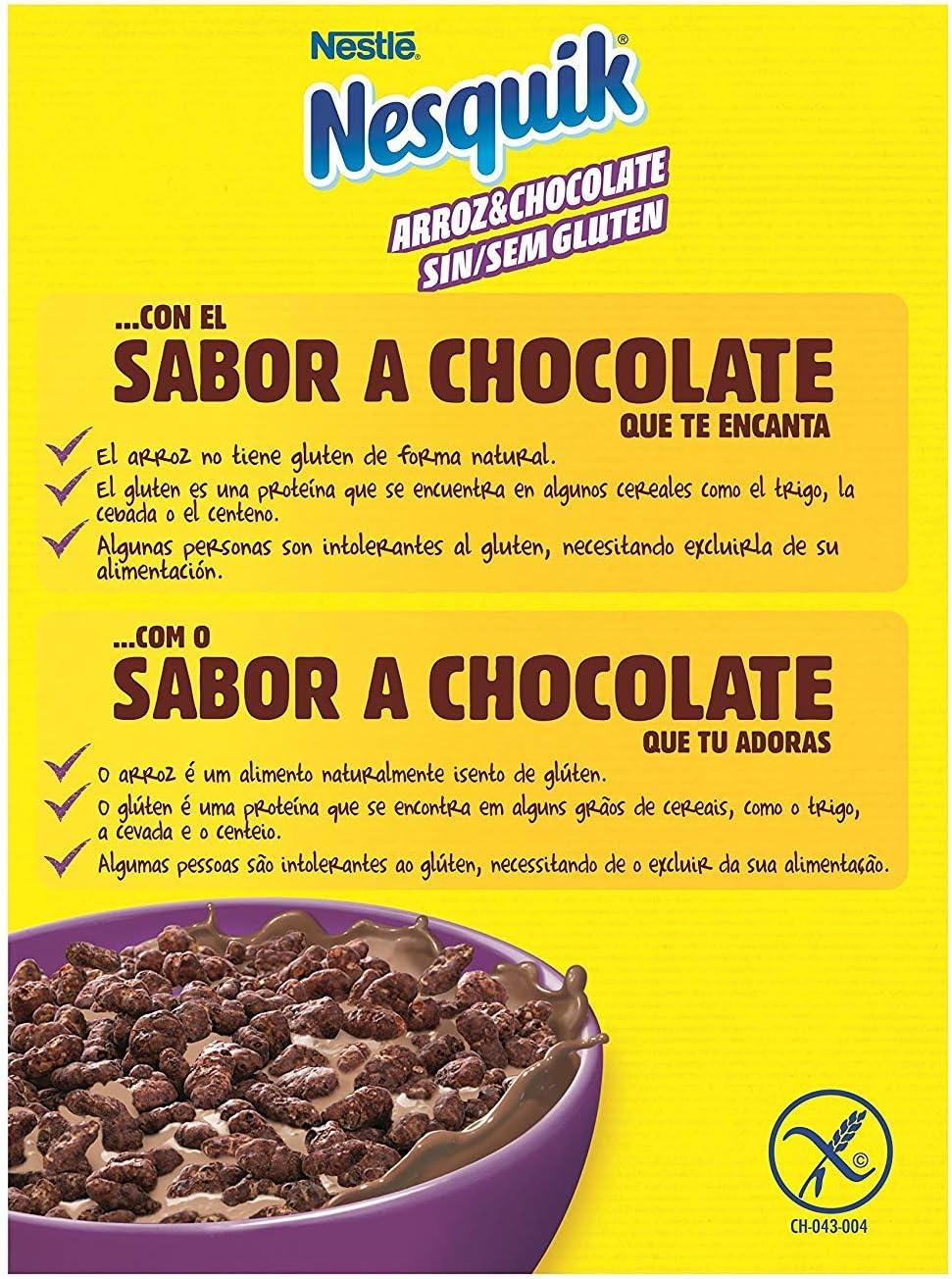 Nesquik Gluten Free - Paquete de 14 x 310 gr - Total: 4.34 kg ...