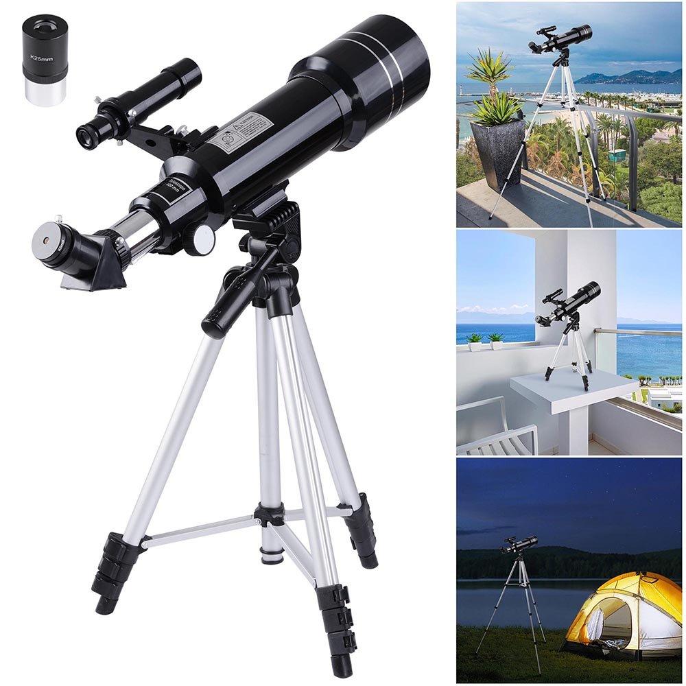 激安通販の AW 70 mm天文屈折望遠鏡屈折フィールドスコープ望遠鏡接眼レンズ三脚Kids Beginners 70 Beginners B01M3U5992 B01M3U5992, ビワチョウ:d6ac06b2 --- arianechie.dominiotemporario.com
