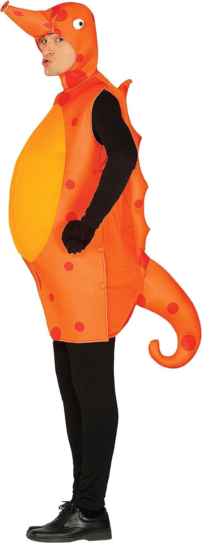 Guirca- Disfraz adulto caballito de mar, Talla 52-54 (84345.0 ...