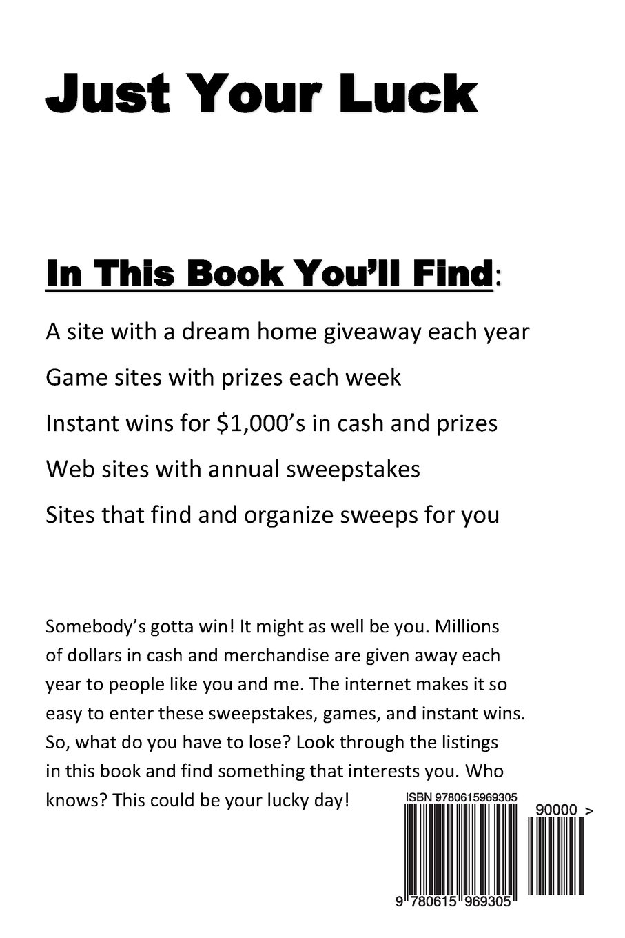 Just Your Luck: Where to find sweepstakes, games, and
