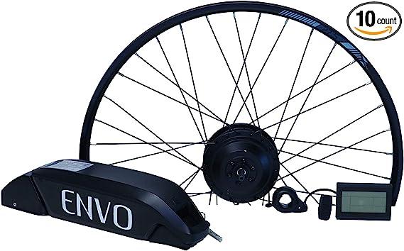 Kaibrite 28 inch Electronic Bike Conversion Kit,48V Electric Bicycle Motor Conversion Kit 1000W Motor Rear Wheel E-bike Cycling Hub Speed Controller E-bike Cycling Hub