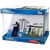 Penn Plax 7.5-Gallon Water World Radius Aquarium Kit