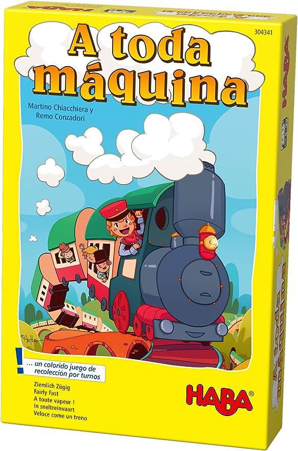 HABA-Juego de Mesa, ¡A Toda Máquina, Multicolor (Habermass H304341): Amazon.es: Juguetes y juegos