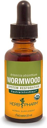Herb Pharm Certified Organic Wormwood Liquid Extract