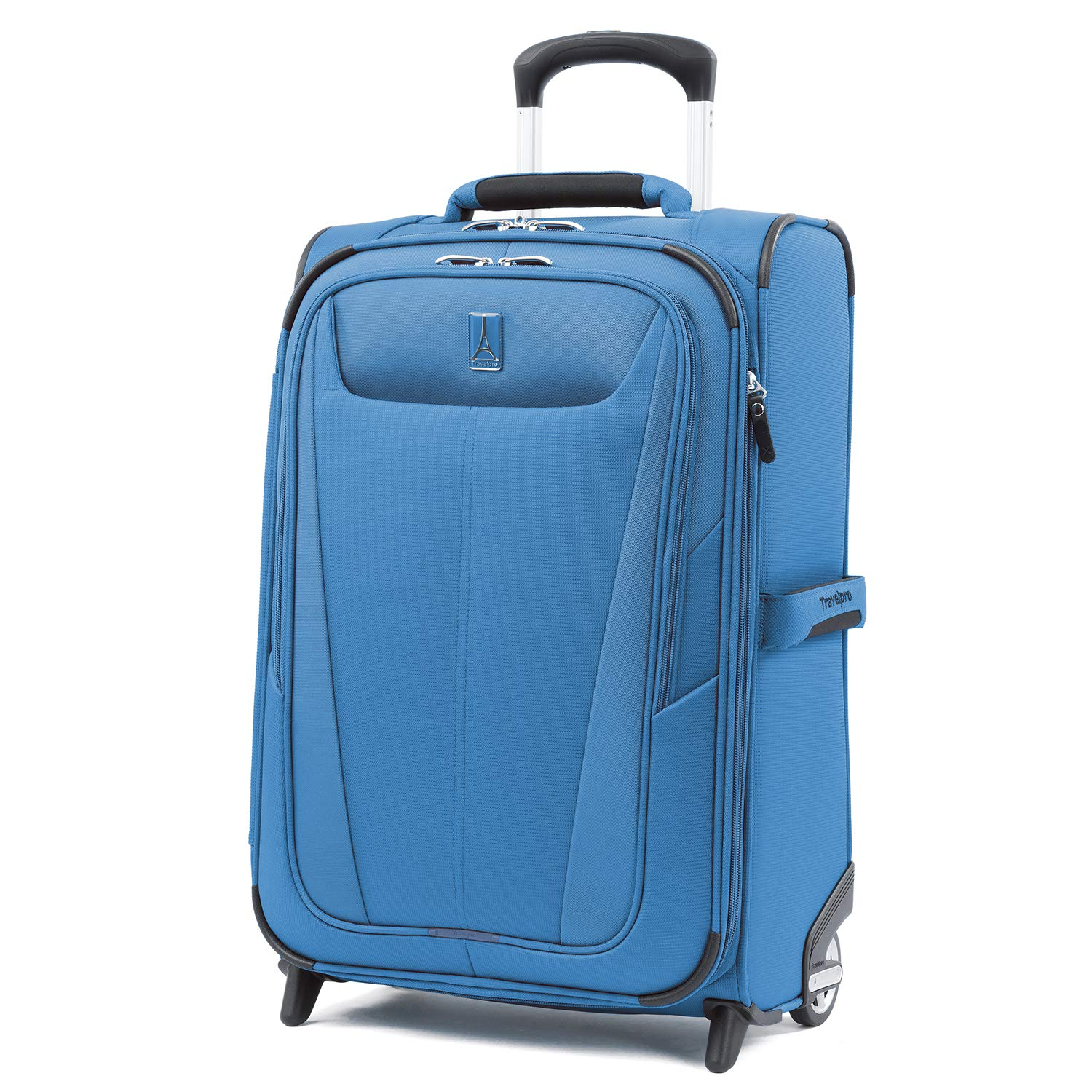 Travelpro Luggage Maxlite 5 22'' Lightweight Expandable Carry-on Rollaboard Suitcase, Azure Blue