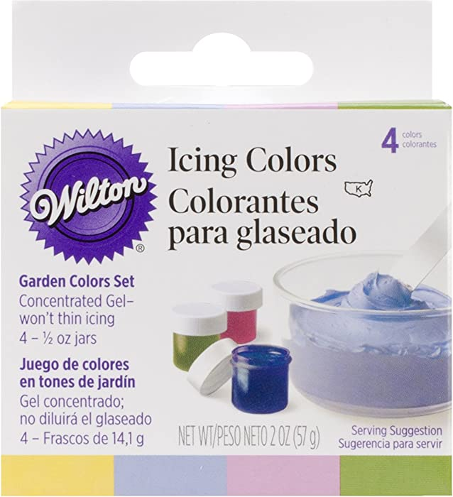 The Best Wilton Color Right Squeeze Gel Food Color