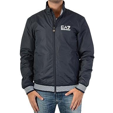 EA7 Emporio Armani Down jacket 6XPB28 Blue 1578  Amazon.co.uk  Clothing f1b4c269afd