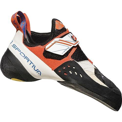 La Sportiva Solution Athletic Sneaker - Zapatillas de escalada para mujer, 33 M EU, White/Lily Orange: Amazon.es: Deportes y aire libre