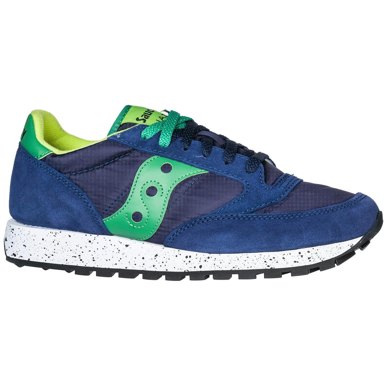 SAUCONY scarpe sneaker uomo JAZZ ORIGINAL S2044 458 marrone e arancione 42 eu 8.5 us 7.5 uk