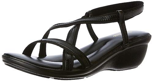 BATA Women's New Black Fashion Sandals