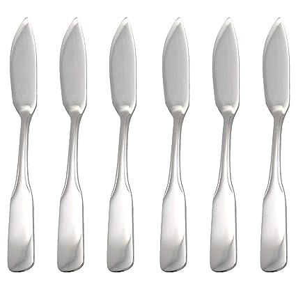 GRÄWE® serie Spaten - Cuchillo para pescado (6 unidades ...