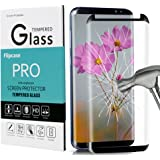 Galaxy S8 Screen Protector,Galaxy S8 Tempered Glass,[Case Friendly][Anti-Bubble][3D Curved Glass]Tempered Glass Screen Protector for Samsung Galaxy S8