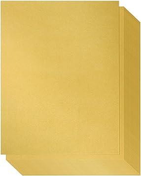 Amazon.com: Papel brillante – 96 pack-gold papel metalizado ...