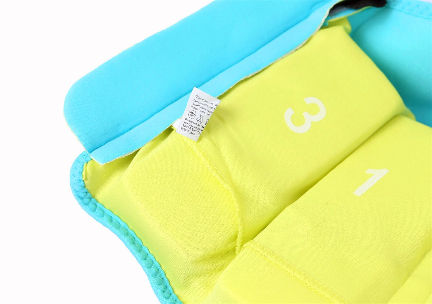 Titop Infant Baby Life Jacket Under 20 Lbs Children Life Vest Yellow Small /&Swimming Panels /& Swimming Cap /& Swimming Glasses /& Floatation Sleeves /& Nose Protector /& Ear Protector 7-set Package