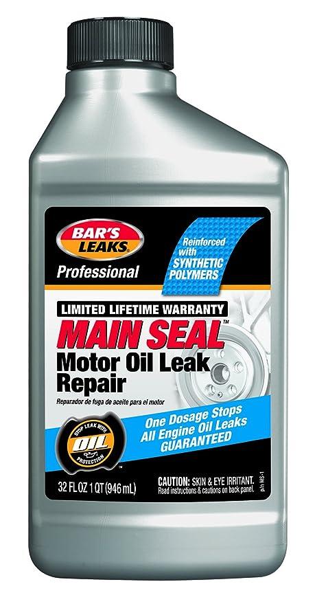Bar's Leaks MS-1 Main Seal Motor Oil Leak Repair, 32  Fluid_Ounces