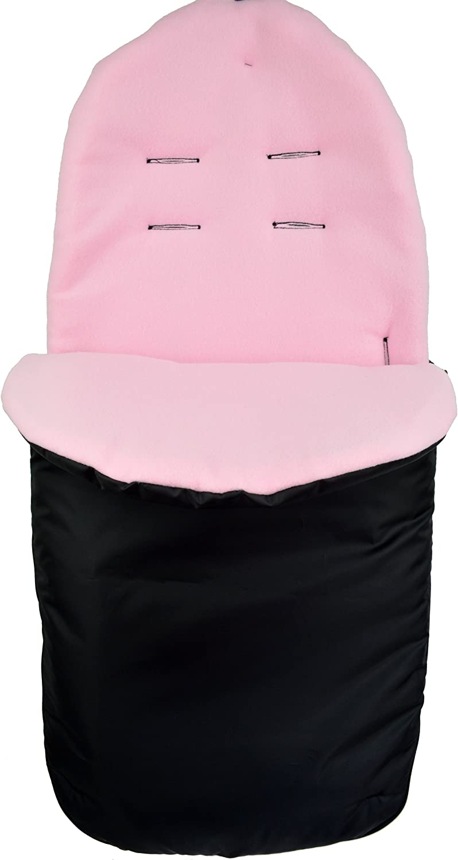 Pink Cuddles Collection Showerproof Fleece Lined Footmuff Baby