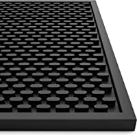 AXIESO Silicone Bar Mat - Heat-Resistant and Food Safe Drip Mat - Spill Mats for Counter Top - Service Mat for Kitchen…