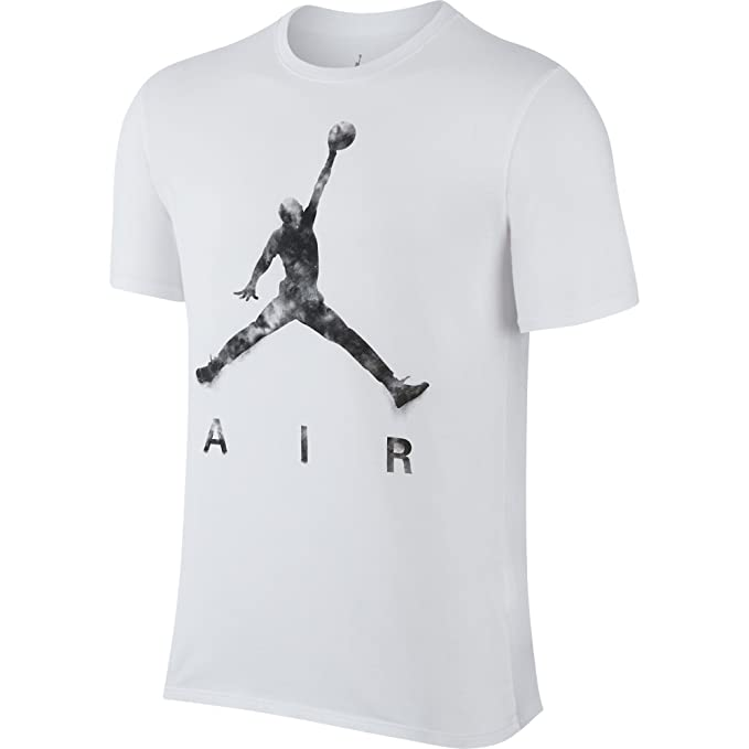 1c885a50139bea Jordan Jumpman Air Dreams Men s T-Shirt White Black 801074-101 (Size ...