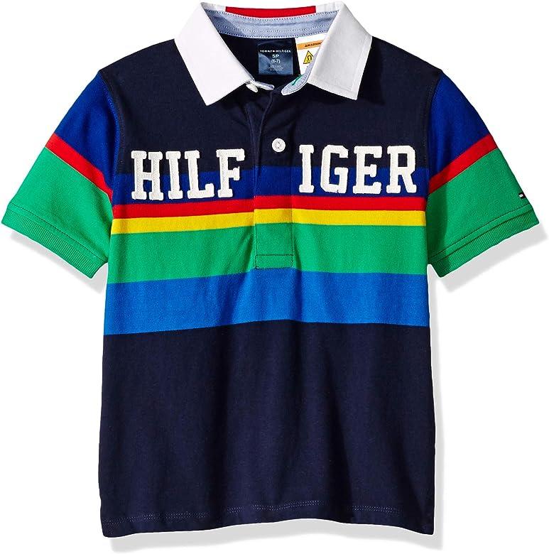 Tommy Hilfiger Big Adaptive - Polo para niño con Botones ...