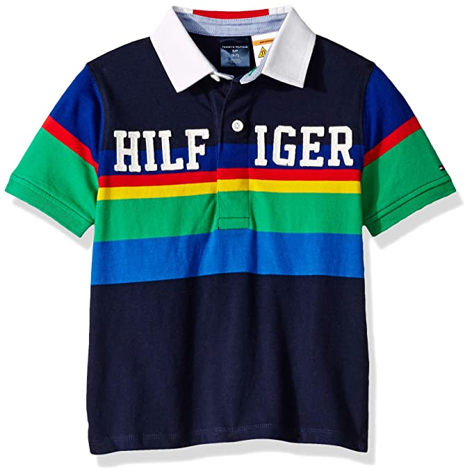 98c221a4e84 Tommy Hilfiger Boys Polo Shirt with Magnetic Buttons Polo Shirt: Amazon.ca:  Clothing & Accessories