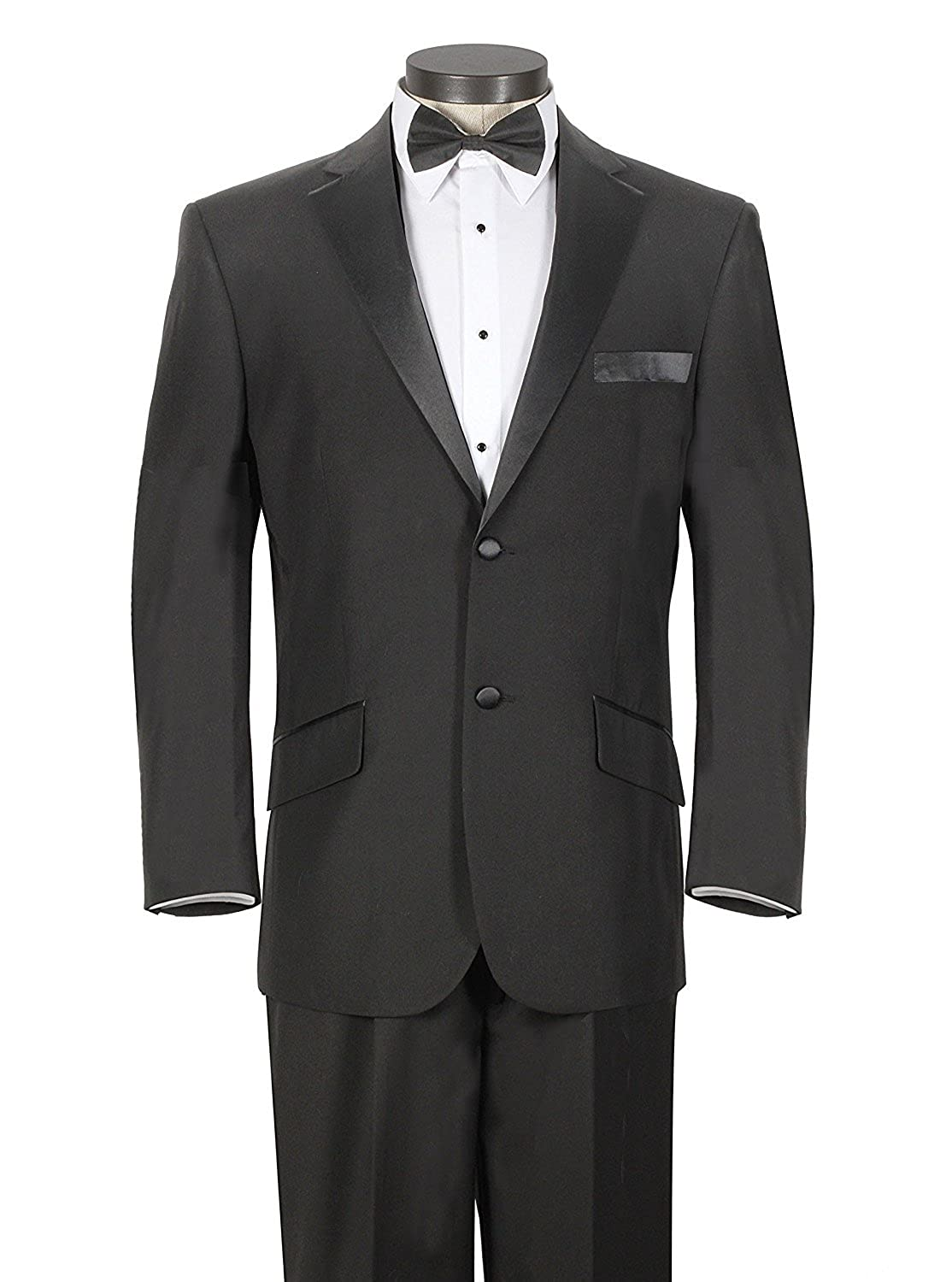 Fitty Lell Mens Suit Two Buttons Blazer Formal Suit 2 Piece Tuxedo Suit