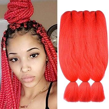 【New Year Off】African Synthetic Box Braid Crochet Hair Styles Jumbo  Kanekalon Braiding Hair Synthetic African Collection Crochet Braids Hair