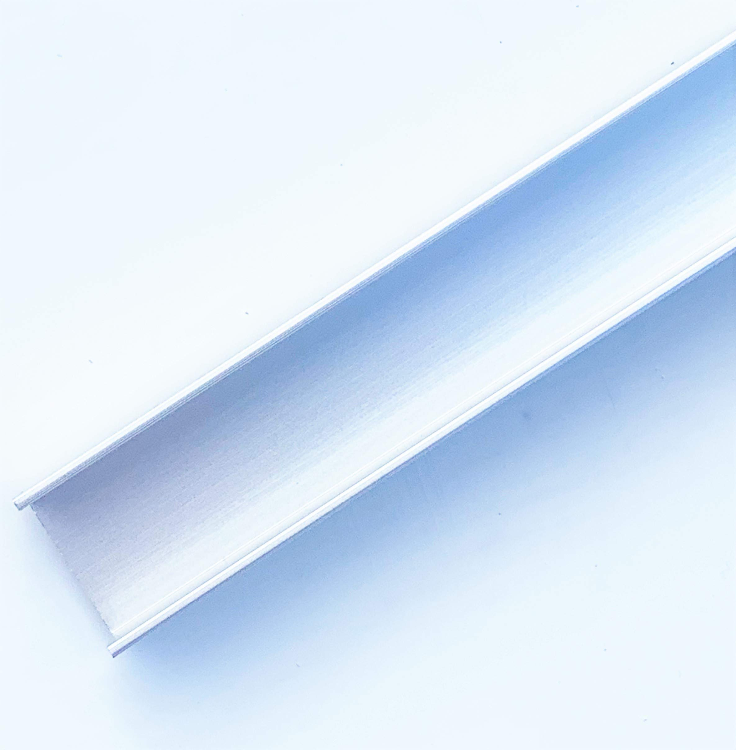 4 FT (48'') 3/4'' Channel 5/8'' Long Legs 1/16'' Walls (3 Pack) Clear Anodized Aluminum by Randall Manufacturing Co., Inc