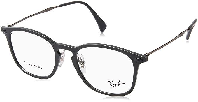 Amazon.com: anteojos Ray-Ban óptico RX 8954 5757 Gris Verde ...