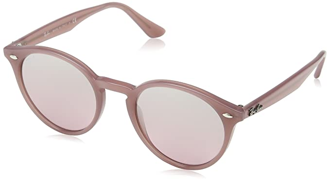 75fd90af0a Ray-Ban INJECTED MAN SUNGLASS - OPAL ANTIQUE PINK Frame PINK MIRROR SILVER  GRAD Lenses