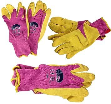 Latex Gartenhandschuhe Handschuhe 5 Paar Arbeitshandschuhe Gr 9 Baumwolle