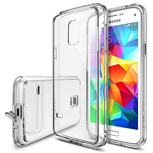 69 opinioni per Galaxy S5 Mini Custodia, Ringke FUSION Custodia [Gratuito Pellicola][CRYSTAL