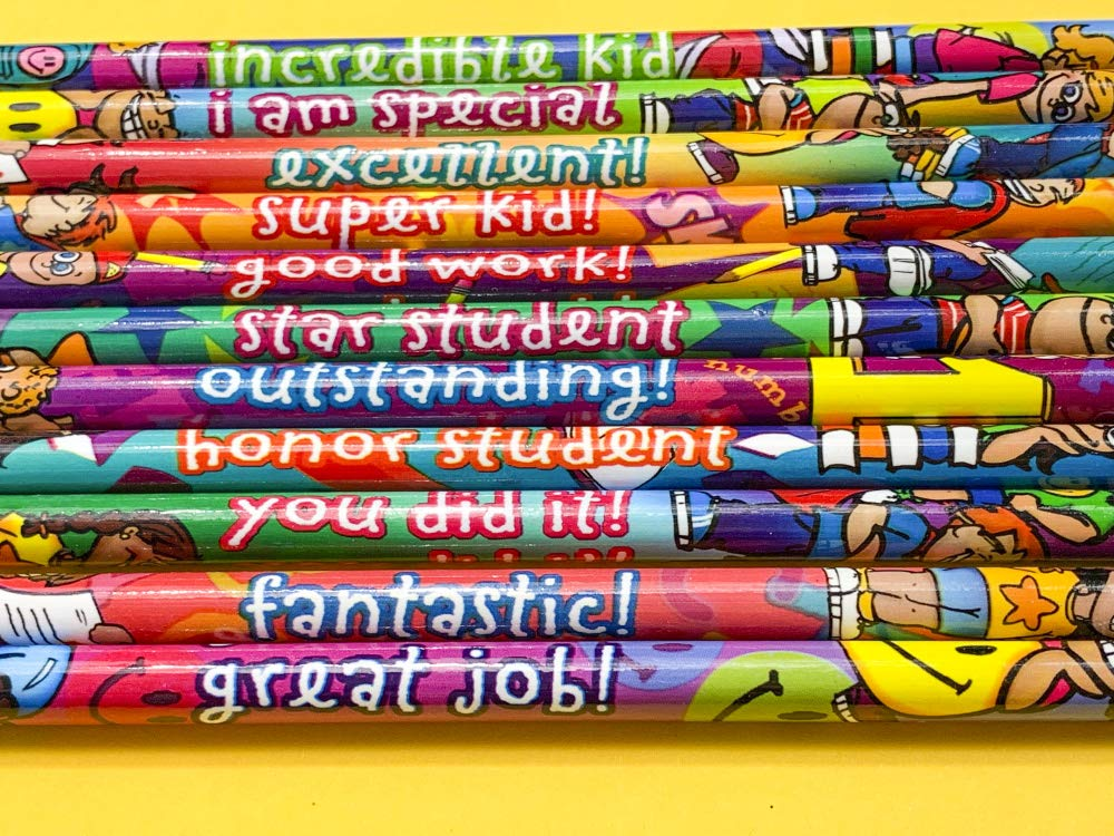 Geddes Incentive Pencils, Various Phrases for Kids, Set of 144 (64244) by Raymond Geddes (Image #4)