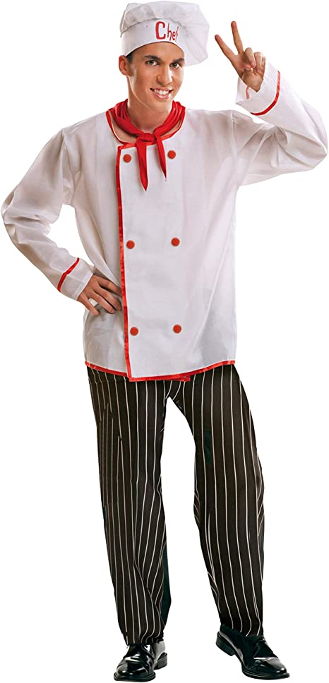 My Other Me Me-201008 Disfraz de cocinero para hombre, M-L (Viving ...