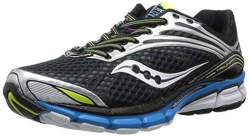 Saucony - Zapatillas de Running para Hombre Black/Blue/Citron: Amazon.es: Ropa y accesorios