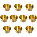 YH Poker Solid Brass Drop-in Cup Holder, Jumbo ¡