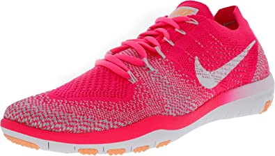 111db1f5796a Nike Women s Free Focus Flyknit 2 Sneakers Size US 7.5 M Racer Pink White