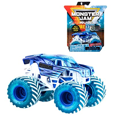 MJ 2020 Monster Jam Fire & Ice Alien Invasion Special Edition 1:64 Scale: Toys & Games