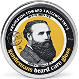 Professor Fuzzworthy's Beard Balm Gloss Leave in Conditioner All Natural Organic Beard Care with Leatherwood Honey & Essential Plant Oils | Handmade in Tasmania Australia- 40g