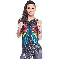 Excess Camiseta Deportiva Mujer Tank Top Tirantes Fitness