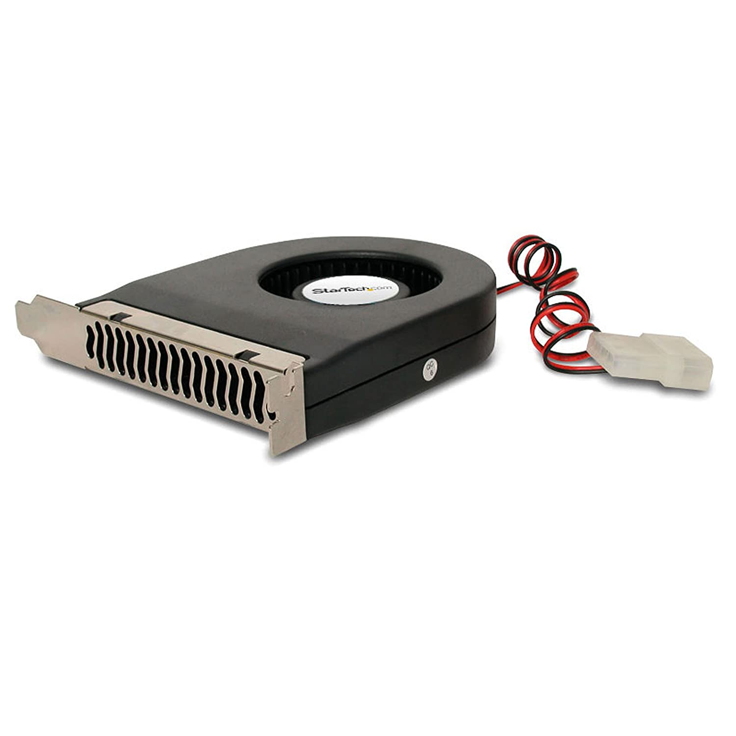 StarTech.com Expansion Slot Rear Exhaust Cooling Fan with LP4 Connector (FANCASE)
