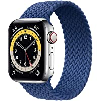 NVFED Solo Loop Braided Band Woven Compatible for Apple Watch SE Series 6 40mm 44mm Compatible with 5/4/3/2/1 38mm-42mm…