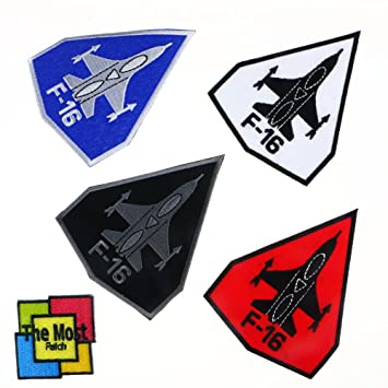 F-16 USAF Air Force fighter jet Embroidered Iron on Patch