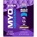 EAS Myoplex Original Protein Shake Mix Packets, Chocolate Cream, 113.4 ounce, 42 servings