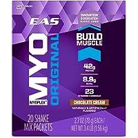 EAS Myoplex Original Protein Shake Mix Packets, Chocolate Cream, 113.4 Ounce, 42 Servings