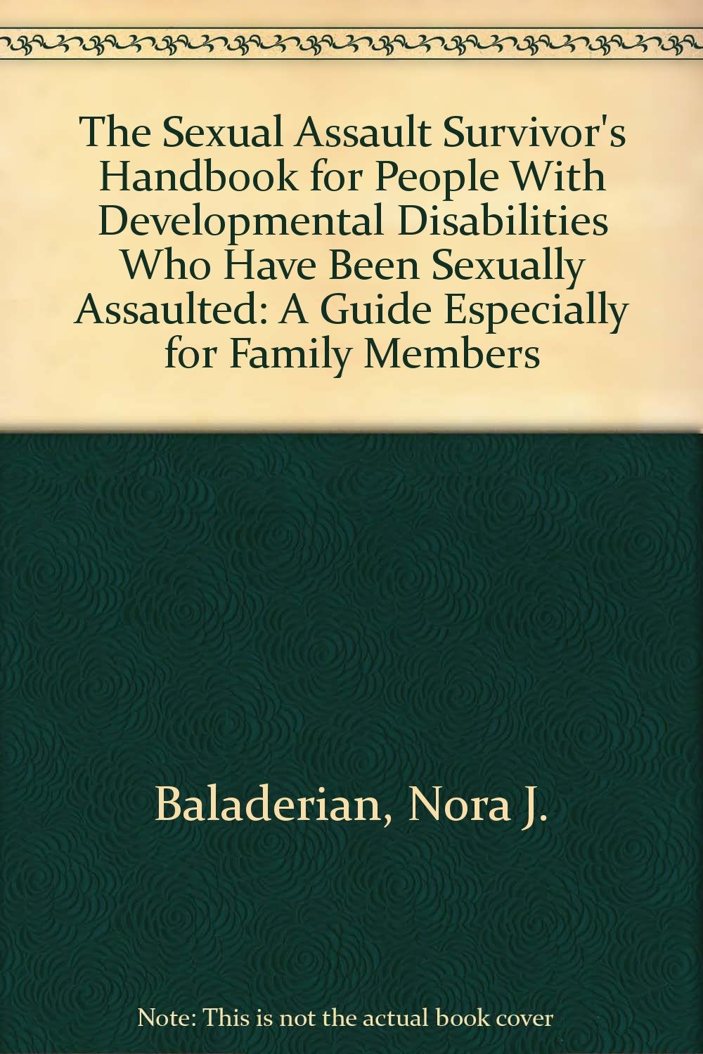 developmental disabilities and sexual assualt
