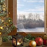 窓ガラス透明断熱シート 結露防止シート 二重窓になり 剥がして残りなし 両面テープ付き 暖房効率アップ 冷気遮断 隙間風防止フィルム 足元冷え激減 防寒省エネ冷気対策 超透明 結露防止 断熱シート窓 すべてサッシ適用(158 x 535cm)